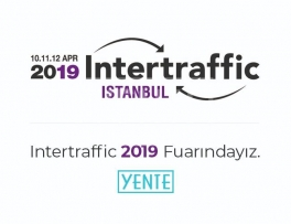 Intertraffic 2019 Fuarındayız