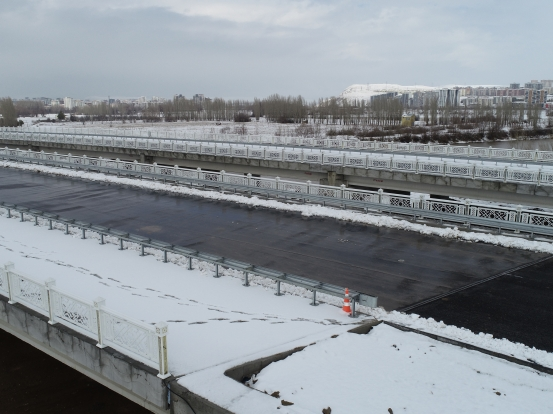 Sivas Yeni Üniversite Yolu Kızılırmak Köprüsü Korkulukları